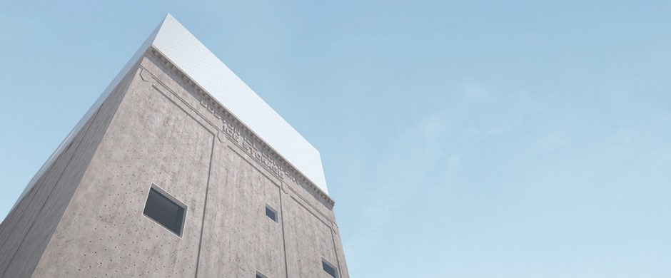 Image from winning Rotch 2009 project. Boston Ice Storage building.